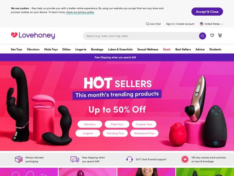 Lovehoney.com Coupon Codes