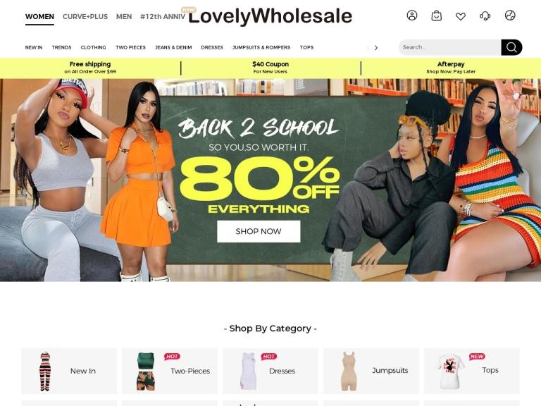 Lovely Wholesale screenshot