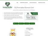 CVS Prescription Discount Card