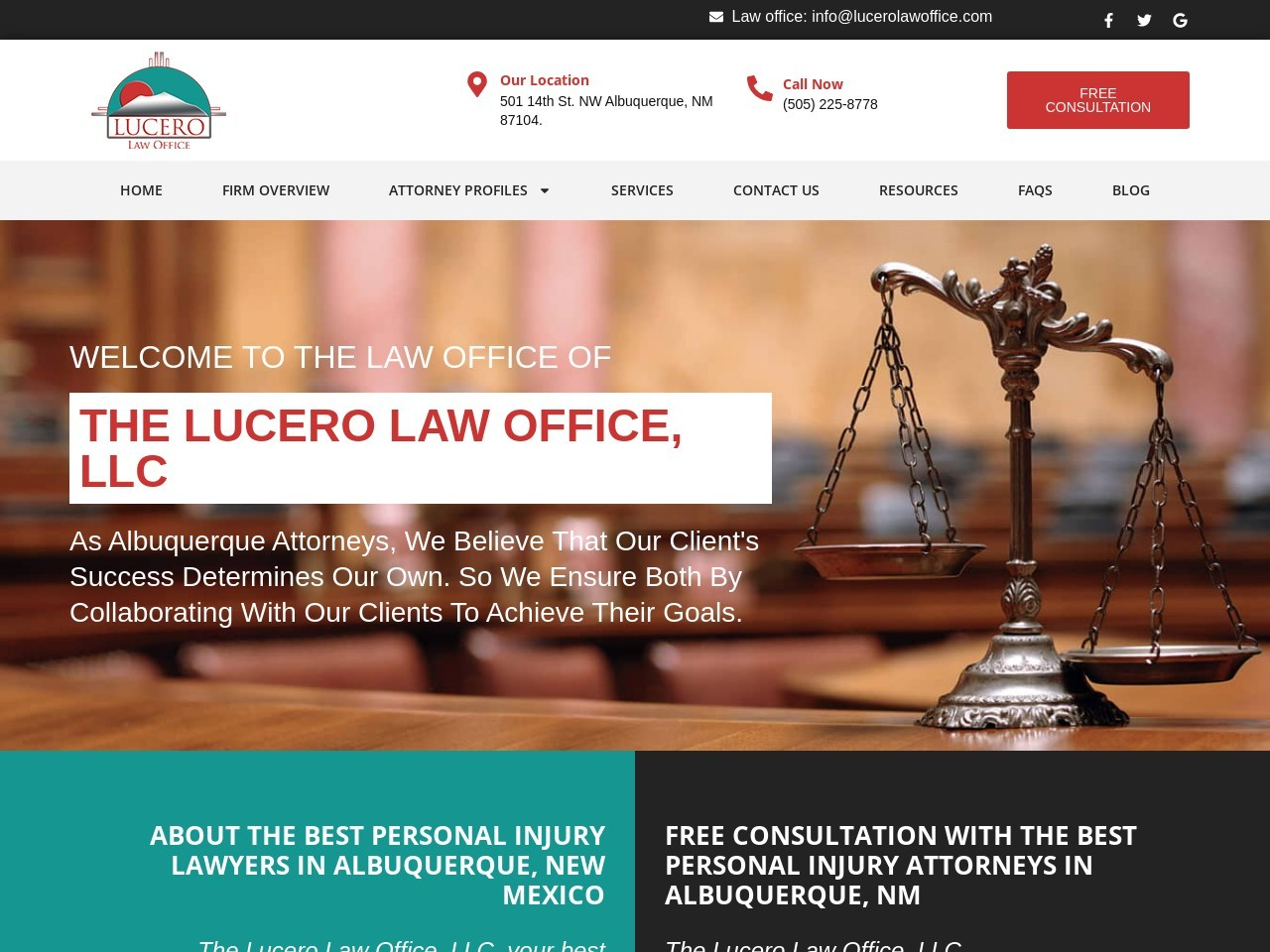 Qualified Criminal Defense Attorney in Albuquerque – The Lucero Law Office