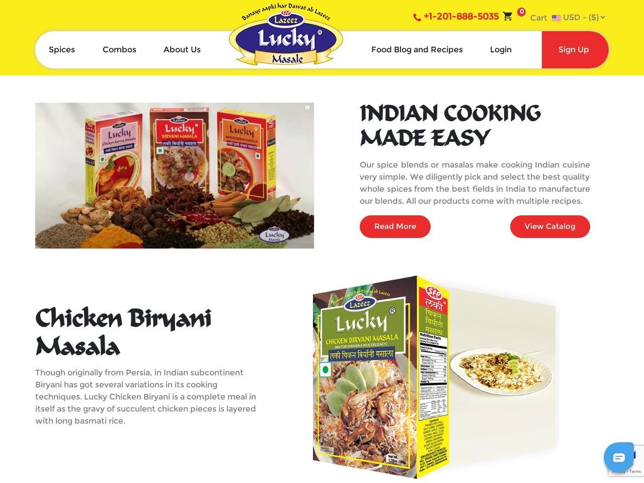 Chicken Angara Masala – Lucky Masale
