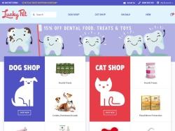 Lucky Pet Supplies screenshot