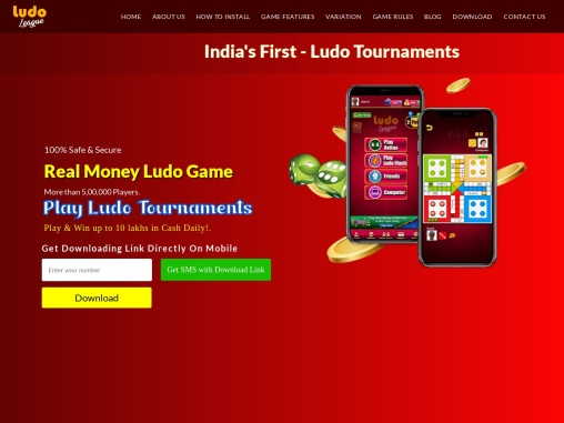 Play  Real Money Ludo Game Win Cash