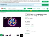 Get online LG nano cell Led tv online lulu hypermarket