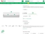 shop online LG split AC lulu hypermarket UAE