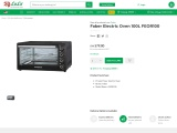 Find out best electric Faber oven online