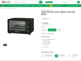 Faber oven online from our Malaysian electronic  store