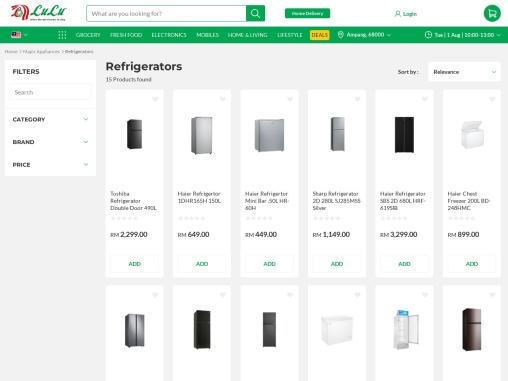 Get best fridge malaysia online