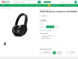 Bluetooth headphones from online shopping store