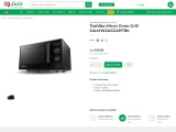Toshiba micro oven online from malaysia electronic store
