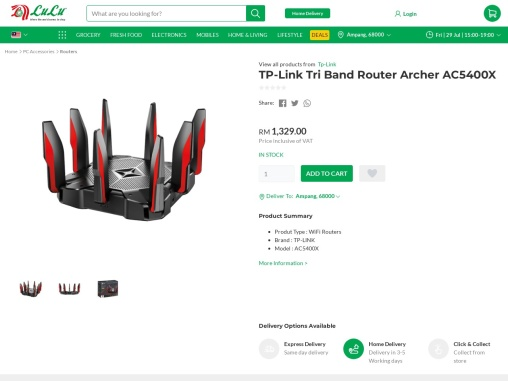 Tp link malaysia online from our online malaysia electronic store
