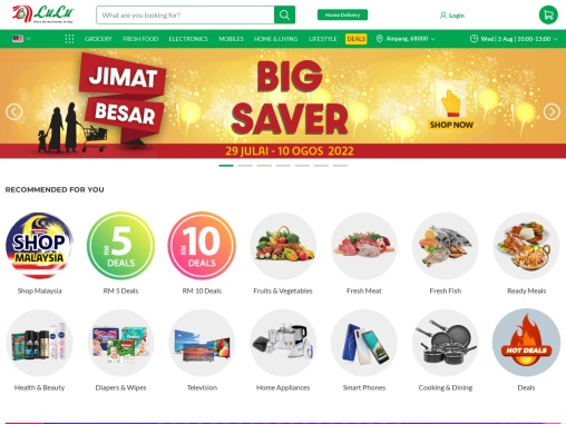 grocery delivery Malaysia with best price