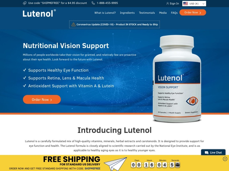 Lutenol screenshot