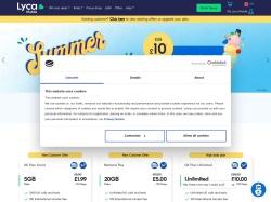 Lyca Mobile screenshot