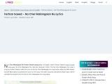 Farhan Saeed – Na Cher Malangaan Nu Song Lyrics