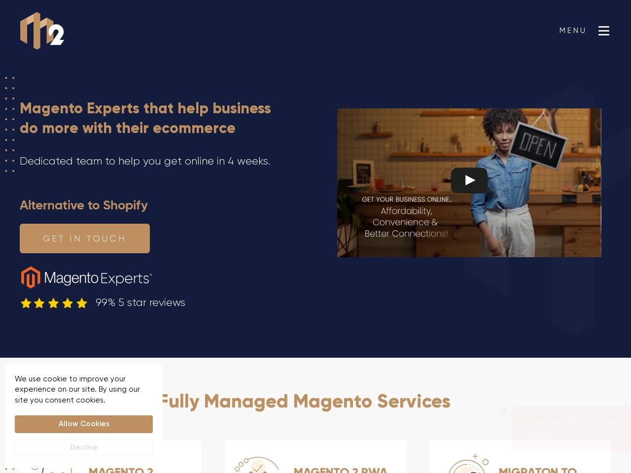 Magento Agency London – M2 Commerce