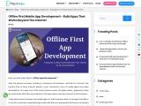 Offline First Mobile App Development | Offline App Builder