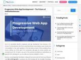 Progressive Web App Development Company | PWA Development