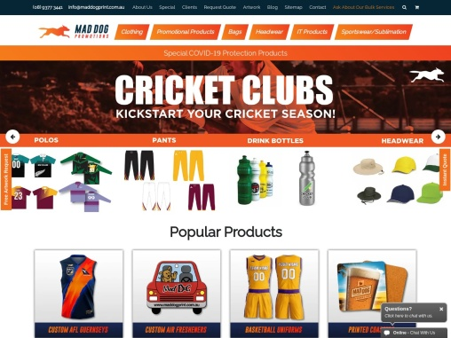 Promotional Products Perth – Mad Dog Promotions