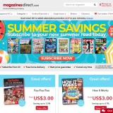 Up to 73% sale at Magazines Direct