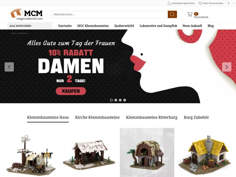 Magiccubemall screenshot