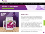 Wall Putty Suppliers in India