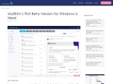 Mailtrim's First Beta Version for Windows is Here!