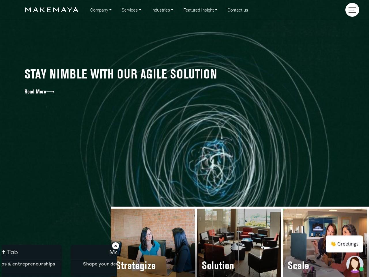 Digital Transformation Company In India | MAKEMAYA