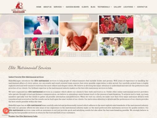 India's Favorite Elite Matrimonial services