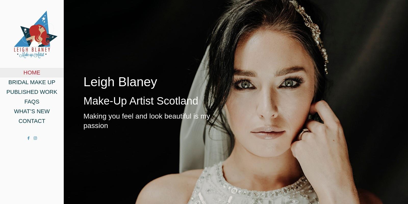Preview of https://www.makeupbyleighblaney.co.uk