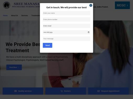 Sree Manasa Psychiatric Nursing home