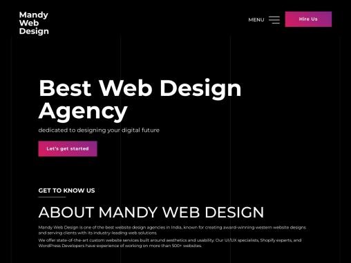 Best Web Design Company India   Top Web Development Agency India
