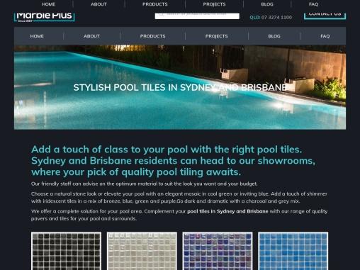 Pool Tiles Sydney – Marble Plus