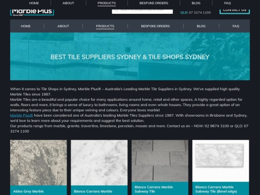 Tile Shops Brisbane- Marble Plus