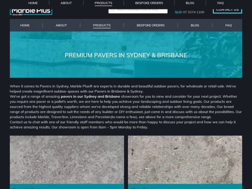 Pavers in Sydney – Marble Plus