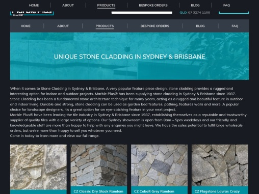 Stone Cladding Brisbane – Marble Plus