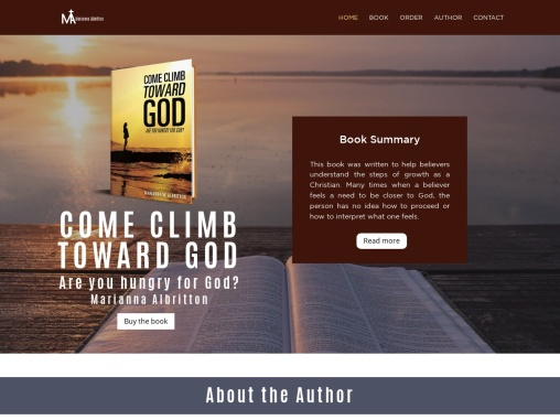 COME CLIMB TOWARD GOD By  Marianna Albritton