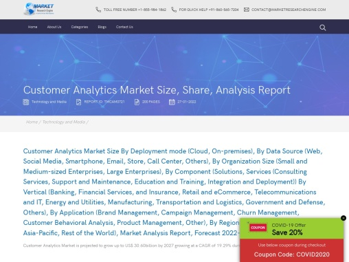 Customer Analytics Market Share