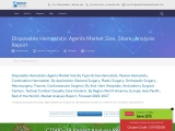 Disposable Hemostatic Agents Market Size