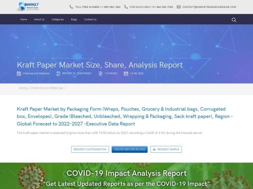 kraft paper market share | kraft paper market