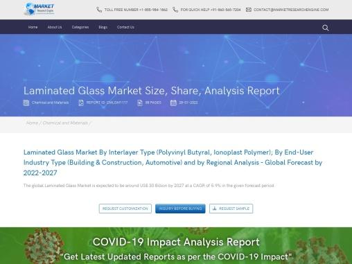 Laminated Glass Market Share