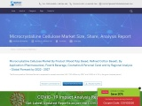 Microcrystalline Cellulose Market Size