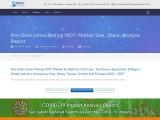 Non Destructive Testing (NDT) Market