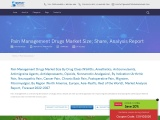 Pain Management Drugs Market