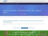 Automotive Refinish Coatings Market