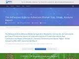 tile adhesives & stone adhesives market share