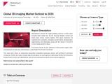 Global 3D Imaging Market Outlook to 2026