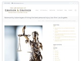 Noteworthy Advantages of hiring the best personal injury law firm Los Angeles