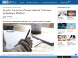 Acquire Launches Conversational Customer Experience Platform