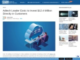 Adtech Leader Ezoic to Invest $12.4 Million Directly in Customers